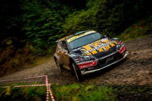 Martin McCormack / David Moynihan, ŠKODA FABIA R5, Tiger Risk Rally Team. Scottish Rally 2017