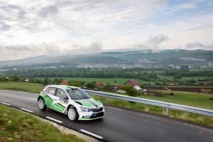 Dan Girtofan / Tudor Marza, ŠKODA FABIA R5, CS Prorally Team BV. Transilvania Rally 2017 (Photo: Adrian Torjoc & Bogdan Barabas)