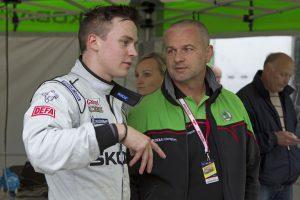 Esapekka Lappi, Michal Hrabánek, ŠKODA Motorsport. Rally Poland 2012