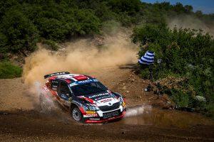 Grzegorz Grzyb / Jakub Wróbel, ŠKODA FABIA R5, Rufa Sport. Acropolis Rally 2017