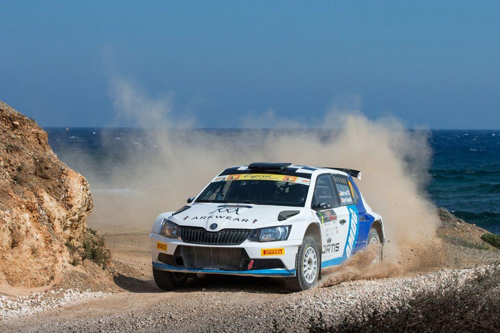 Albert von Thurn und Taxis / Bjorn Degandt, ŠKODA FABIA R5, Albert von Thurn und Taxis. Cyprus Rally 2017