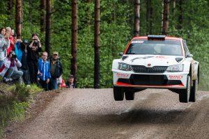 Mikko Lehessaari / Reeta Hämäläinen, ŠKODA FABIA R5, Hannu's Rally Team. O.K. Auto-Ralli 2017