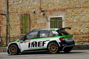 Efrem Bianco / Dino Lamonato, ŠKODA FABIA R5, DP Autosport. Rally della Marca Trevigiana 2017 (Foto: ACIsport)