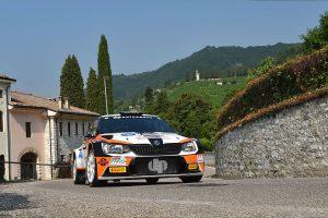 Ilario Bondioni / Elia Ungaro, ŠKODA FABIA R5, DP Autosport. Rally della Marca Trevigiana 2017 (Foto: ACIsport)