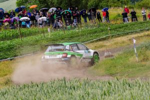 Jan Kopecký / Pavel Dresler, ŠKODA FABIA R5, ŠKODA Motorsport. Rally Hustopeče 2017