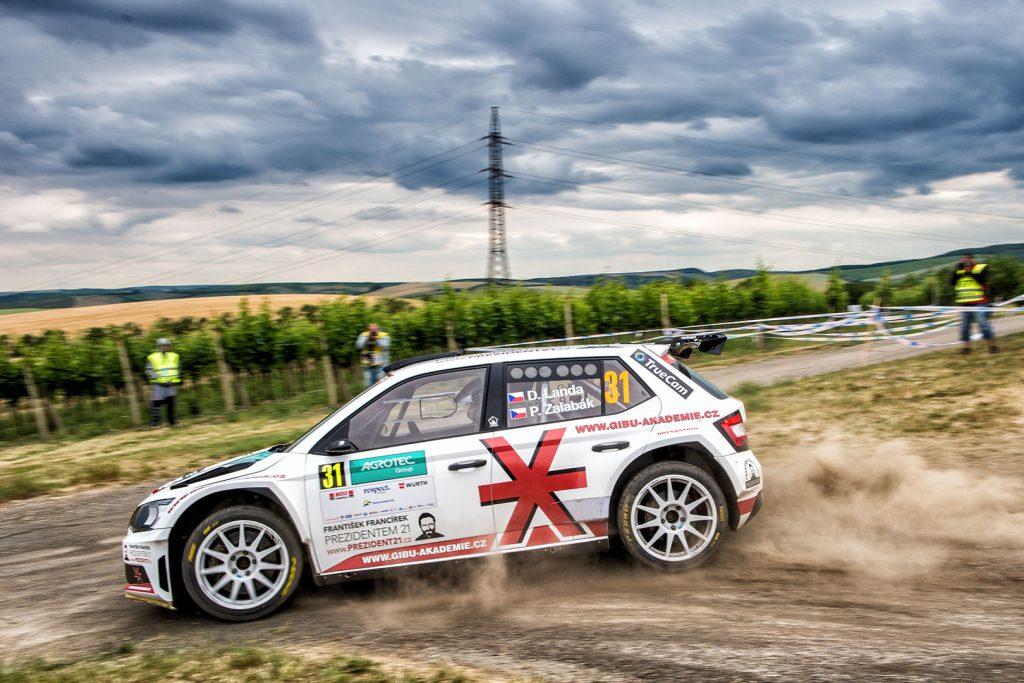 Daniel Landa / Pavel Zalabák, ŠKODA FABIA R5, Spirit Racing. Rally Hustopeče 2017