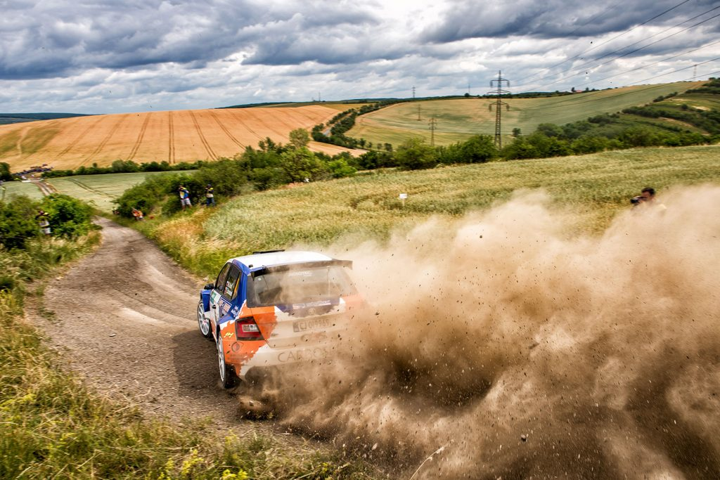 Martin Koči / Filip Schovánek, ŠKODA FABIA R5, Styllex Motorsport. Rally Hustopeče 2017