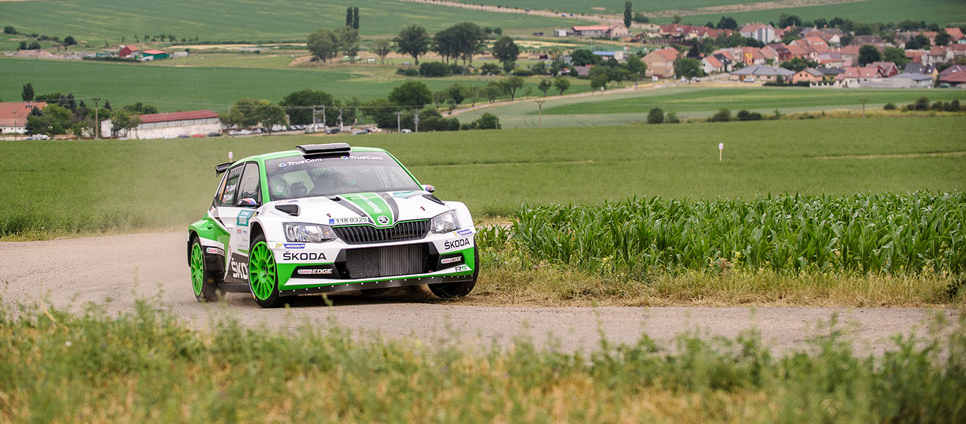 MČR Bohemia: Kopecký / Dresler chase third  win in a row at the home event of ŠKODA