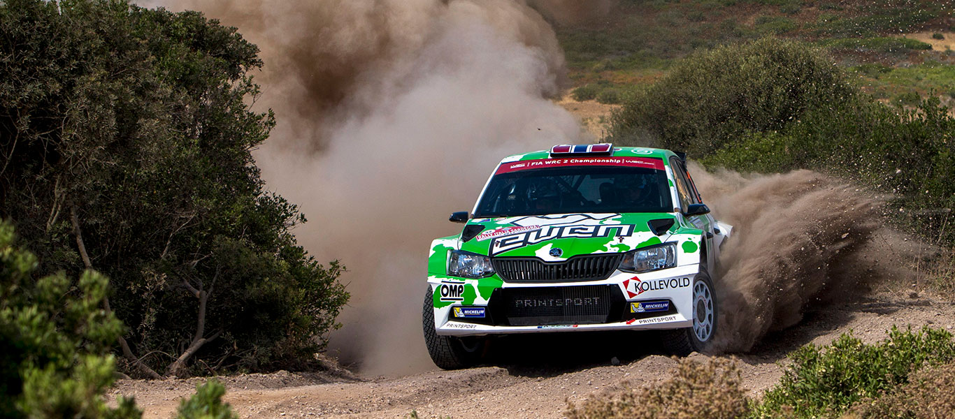 WRC Poland: Veiby and Guerra leading the ŠKODA Customer Teams charge in Mikolajki