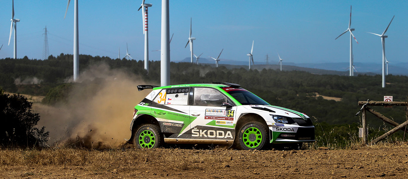 WRC Itálie: Kopecký dominuje kategorii WRC 2