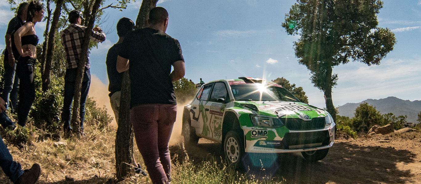 PHOTO: ŠKODA Customer Teams at the 2017 Rally Italia Sardegna