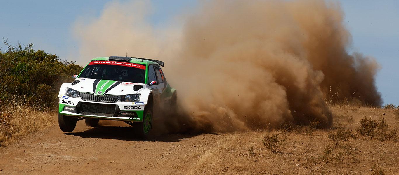 WRC Itálie: Jak přežít 68 °C?