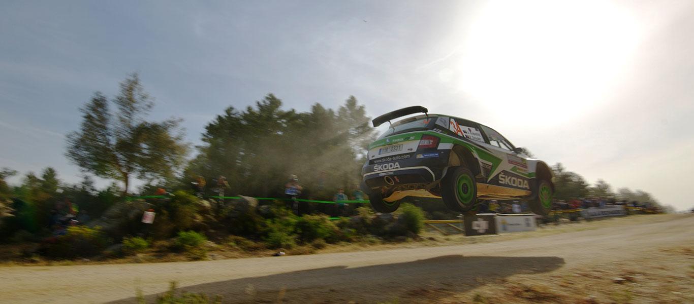 WRC Itálie: Kopecký upevňuje své vedení v kategorii WRC2