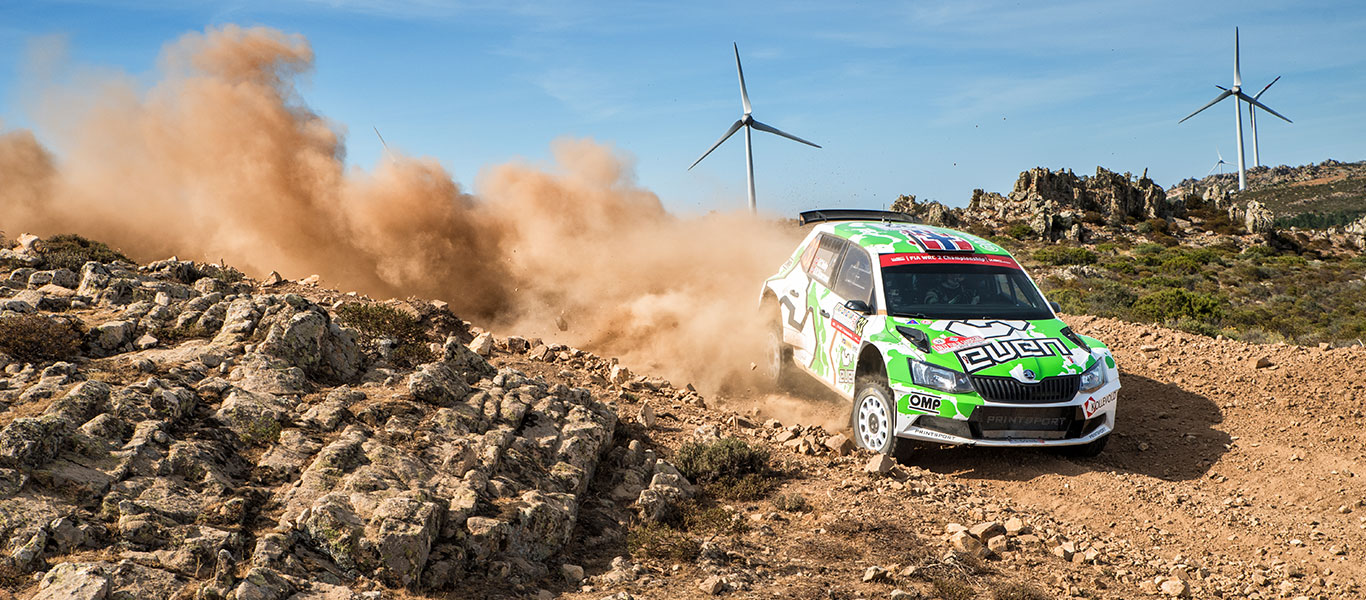 WRC Italy: Veiby finishes second to secure his best ever WRC2 result