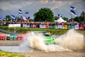 Raul Jeets / Kuldar Sikk, ŠKODA FABIA R5, Tehase Auto. Rally Poland 2017