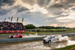 Hubert Ptaszek / Maciej Szczepaniak, Quentin Gilbert / Renaud Jamoul, ŠKODA FABIA R5. Rally Poland 2017