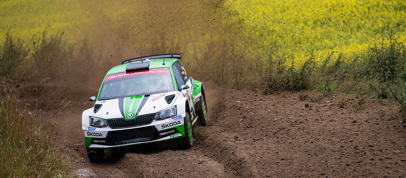 PHOTO: ŠKODA Motorsport at the Rally Poland 2017