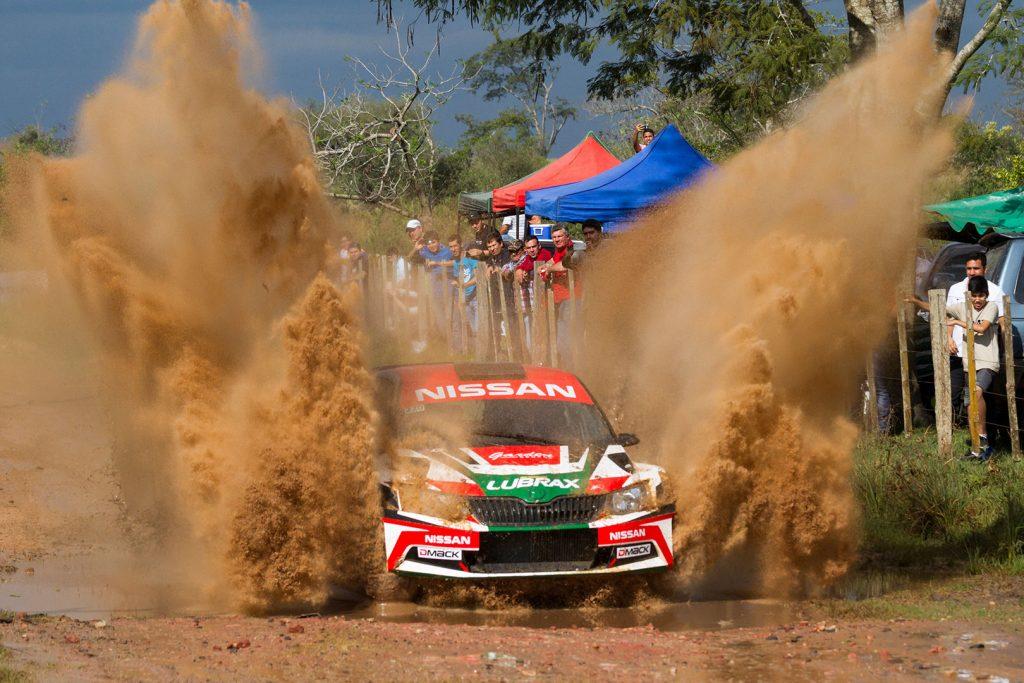 Didier Arias / Hector Nunes, ŠKODA FABIA R5, Didier Arias. Rally Santani 2017