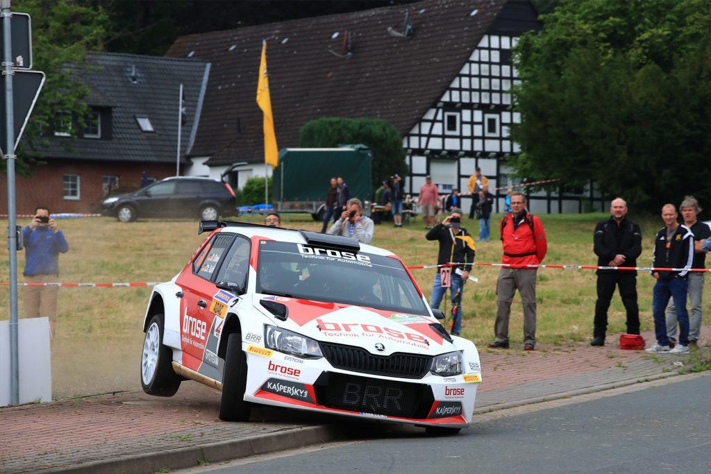 Dominik Dinkel / Christina Kohl, ŠKODA FABIA R5, Brose Motorsport. Rallye Stemweder Berg 2017