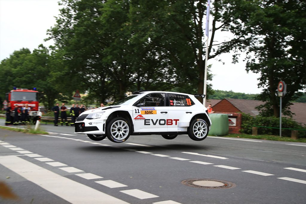 Uğur Soylu / Aras Dinçer, ŠKODA FABIA R5, Toksport WRT. Rallye Stemweder Berg 2017