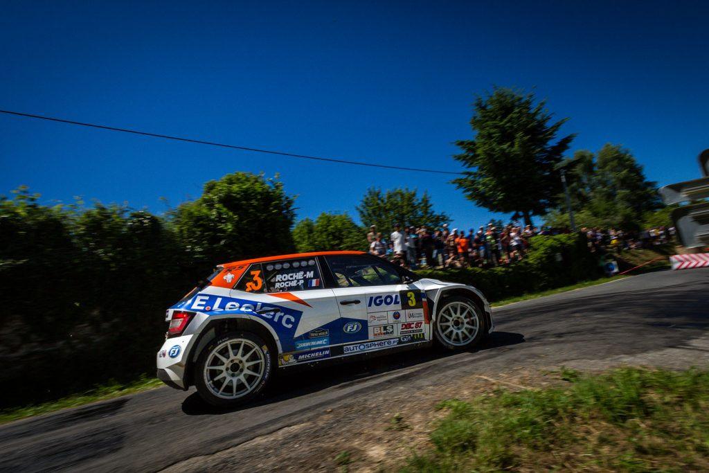 Pierre Roché / Martine Roché, ŠKODA FABIA R5, Team FJ. Rallye du Limousin 2017