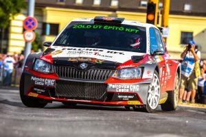 Ferenc Vincze jun. / Attila Bazsó, ŠKODA FABIA R5, S-Motorsport SE. Székesfehérvár Rallye 2017