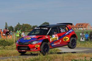 Hermen Kobus / Erik de Wild, ŠKODA FABIA R5, Kobus Tuning. Ypres Rally 2017