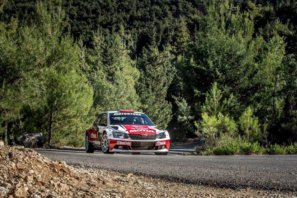 Roger Feghali / Joseph Matar, ŠKODA FABIA R5. Cedar's Rally 2017 (Foto: Biser3a.com / The Action Crew)