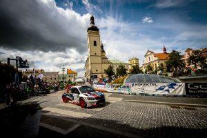 Jan Černý / Petr Černohorský jun., ŠKODA FABIA R5, Mogul ŠKODA ACA Racing. Rally Bohemia 2017