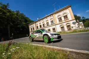 Jan Kopecký / Pavel Dresler, ŠKODA FABIA R5, ŠKODA Motorsport. Rally Bohemia 2017