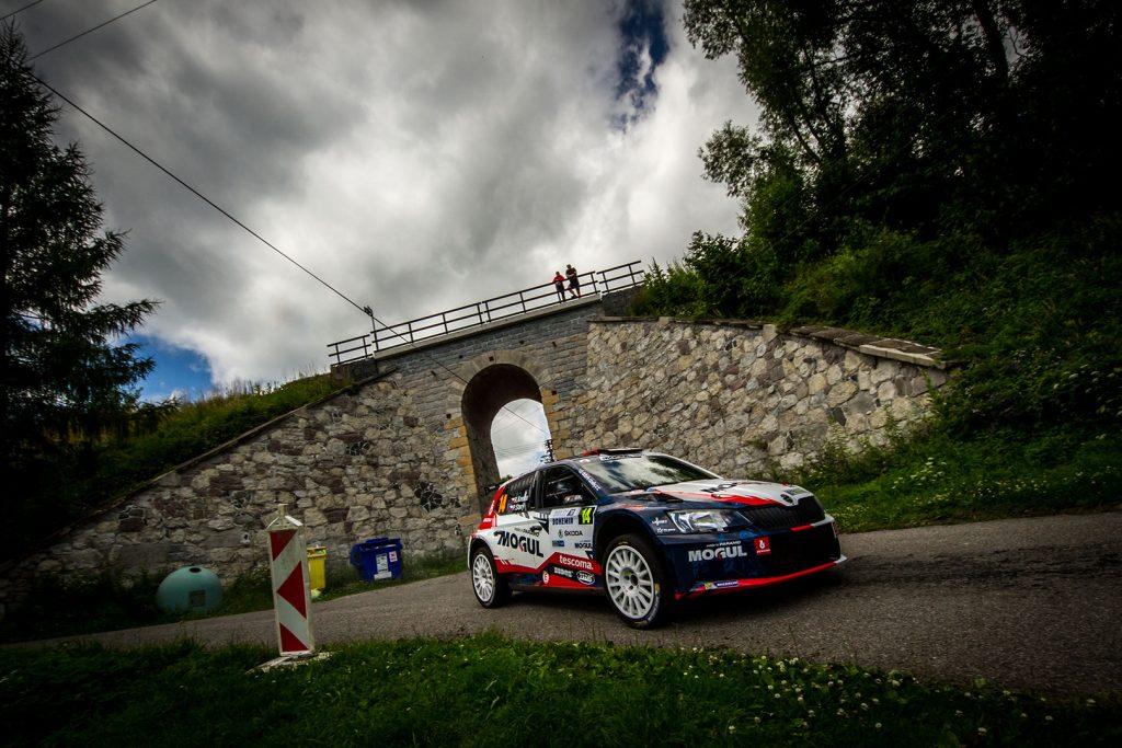 Roman Kresta / Petr Starý, ŠKODA FABIA R5, Mogul Racing Team. Rally Bohemia 2017