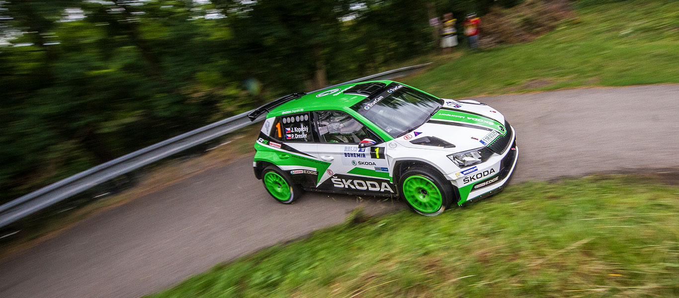 PHOTO: ŠKODA cars at the Rally Bohemia 2017