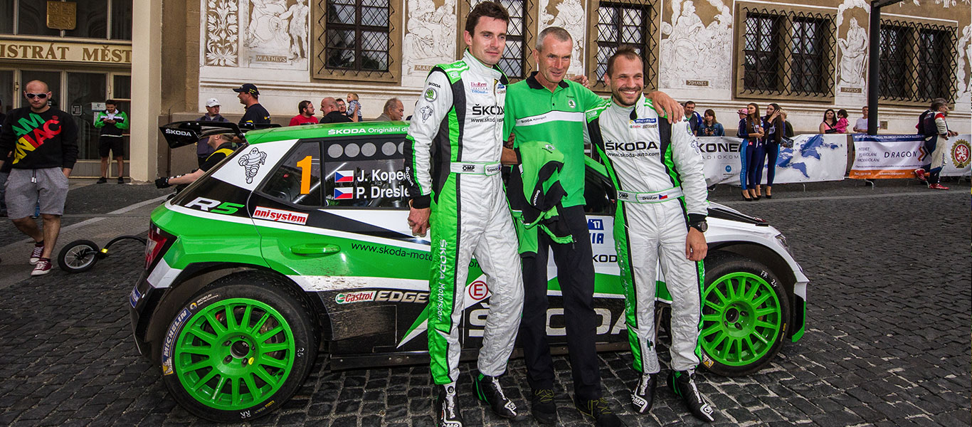 MČR Bohemia: Kopecký / Dresler secured third national title in a row