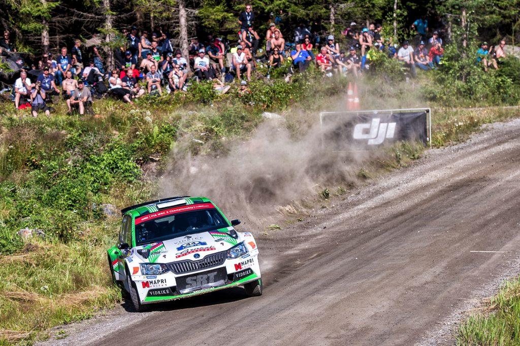 Raul Jeets / Kuldar Sikk, ŠKODA FABIA R5, Sport Racing Technologies. Rally Finland 2017