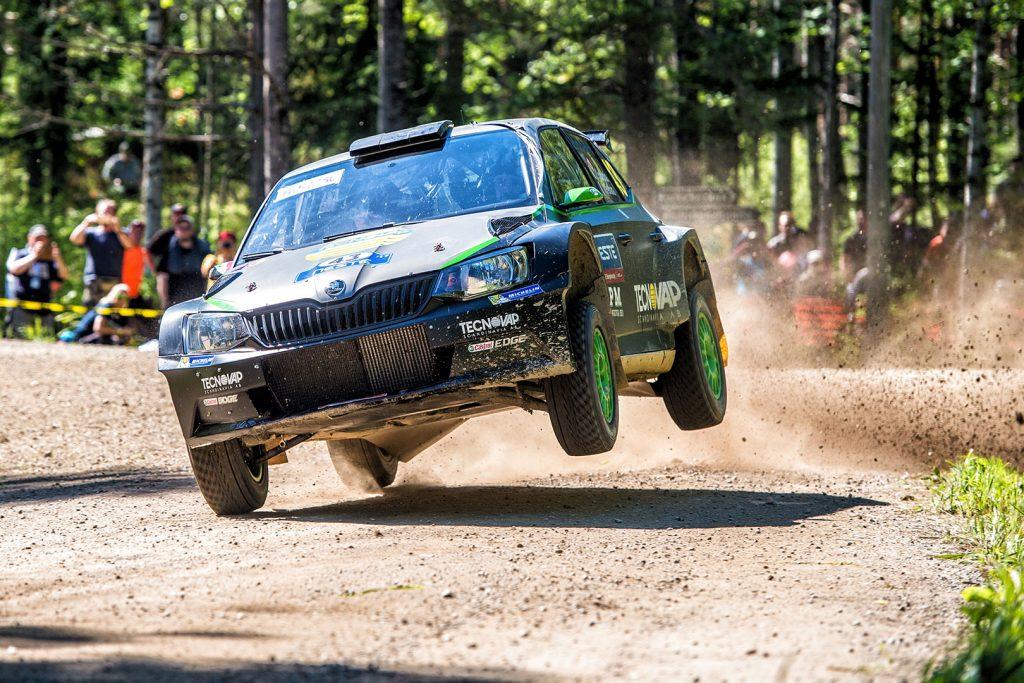 Umberto Scandola / Michele Ferrara, ŠKODA FABIA R5, Motorsport Italia. Rally Finland 2017