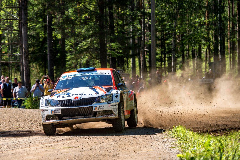 Teemu Asunmaa / Jonne Halttunen, ŠKODA FABIA R5, Hannu's Rally Team. Rally Finland 2017