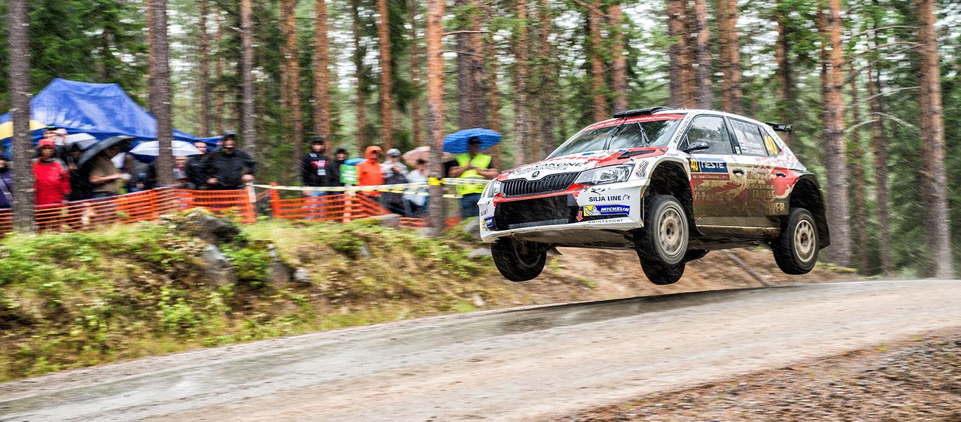 FOTO: Zákaznické týmy ŠKODA na Finské rally 2017