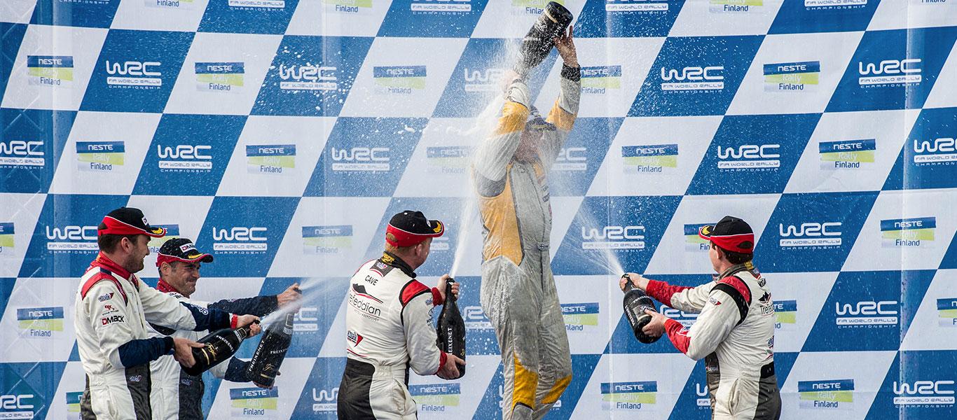 WRC Finland: Jari Huttunen wins on his debut in WRC2