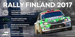 Zajímavosti Rally Finland 2017