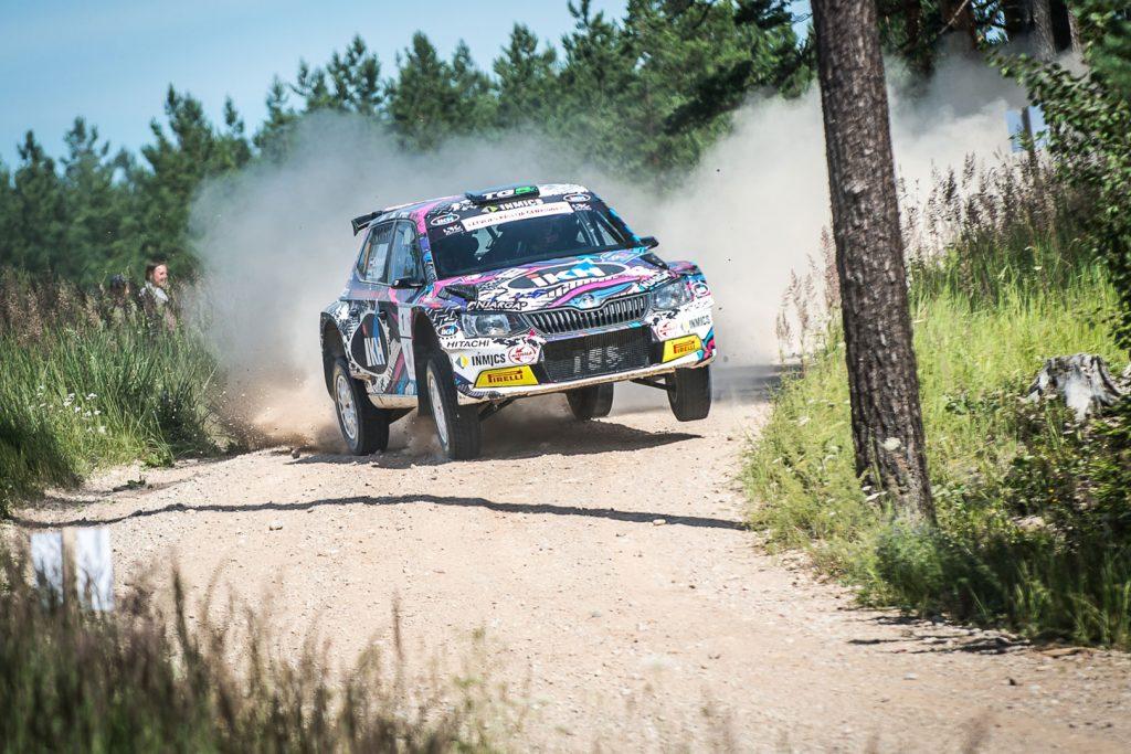 Kalle Rovanperä / Risto Pietiläinen, ŠKODA FABIA R5, TGS Worldwide OU. Rally Latvija 2017