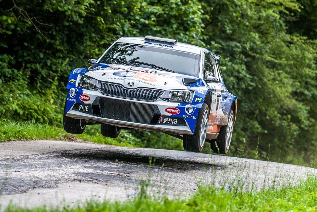 Martin Koči / Filip Schovánek, ŠKODA FABIA R5, Styllex Motorsport s.r.o.. Rally Lubeník 2017