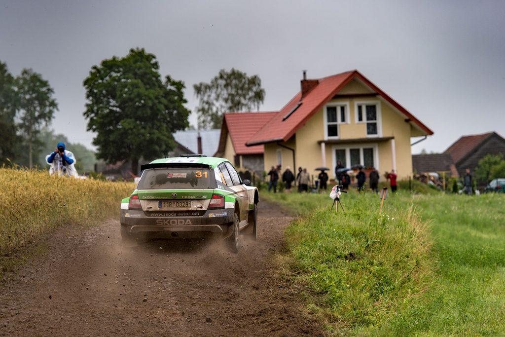 Pontus Tidemand / Jonas Andersson, ŠKODA FABIA R5, ŠKODA Motorsport. Rally Poland 2017
