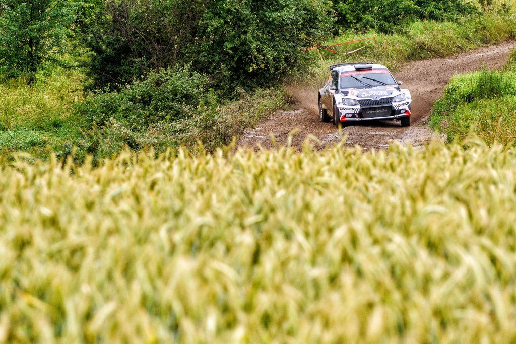 Quentin Gilbert / Renaud Jamoul, ŠKODA FABIA R5, Quentin Gilbert. Rally Poland 2017