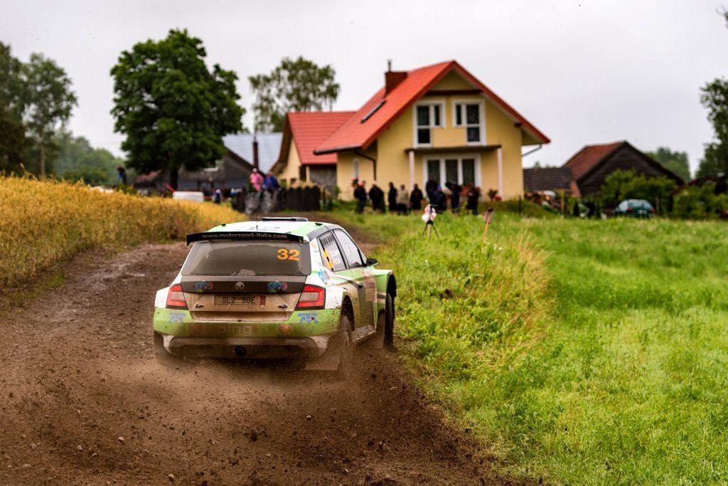 Benito Guerra jr. / Daniel Cué, ŠKODA FABIA R5, Motorsport Italia. Rally Poland 2017