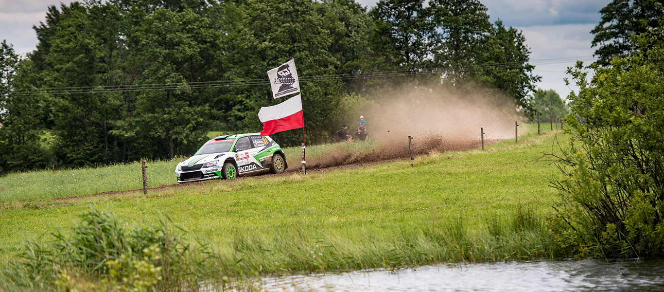 WRC Poland: ŠKODA dominating WRC2