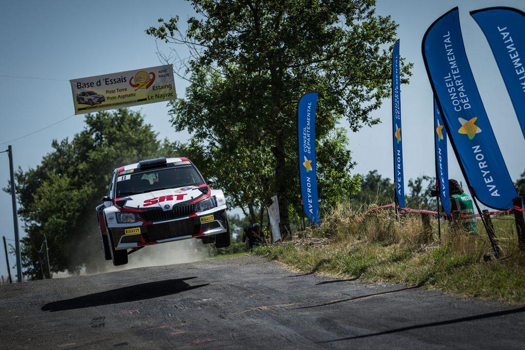 Nikolay Gryazin / Yaroslav Fedorov, ŠKODA FABIA R5, Sports Racing Technologies. Rallye Aveyron Rouergue - Occitanie 2017