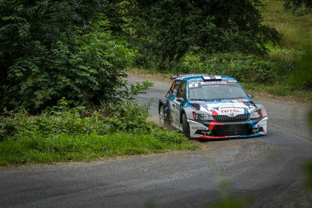 Quentin Giordano / Kévin Parent, ŠKODA FABIA R5, Sébastien Loeb Racing. Rallye Aveyron Rouergue – Occitanie 2017