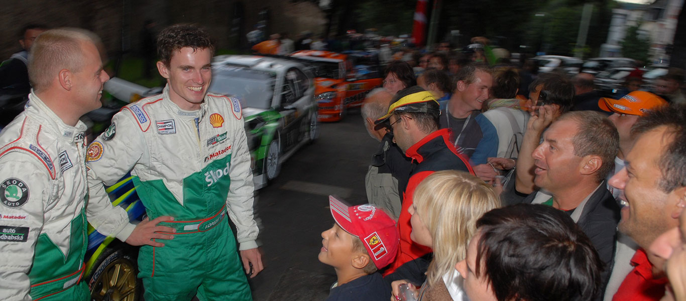 From the Archives: 10 years ago, Jan Kopecký claimed his best ever WRC result in Germany