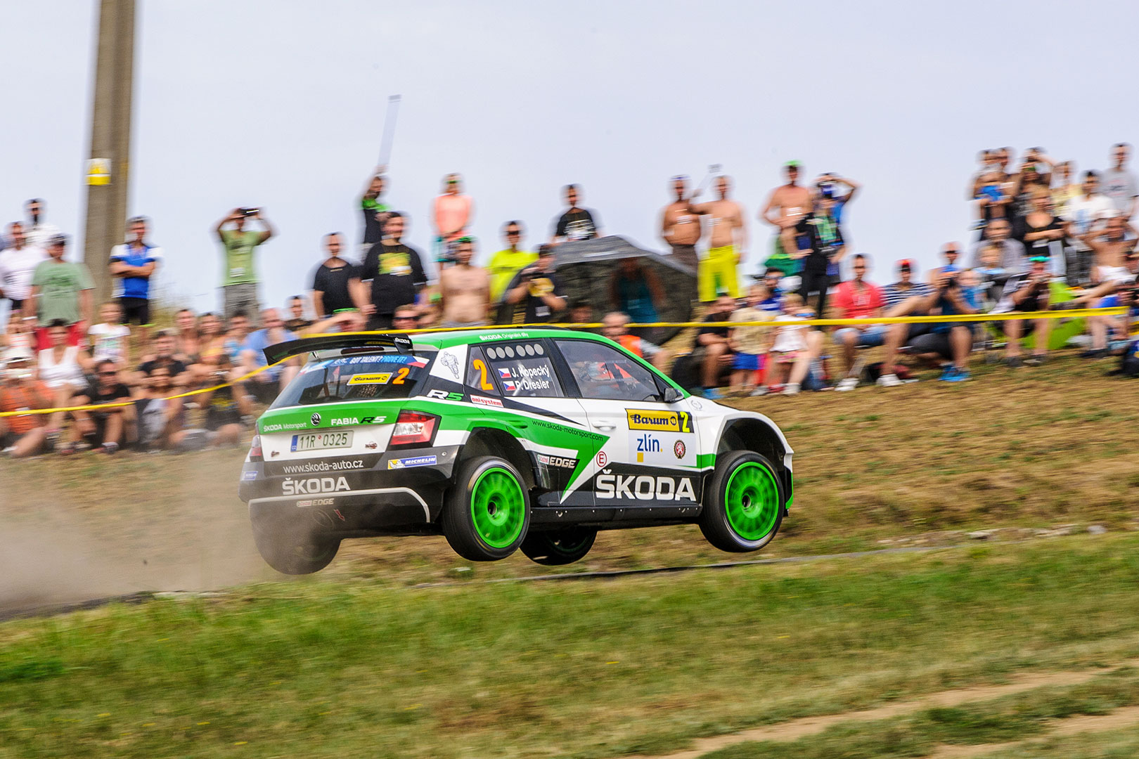 Action-packed Barum Czech Rally Zlín Is About to Start