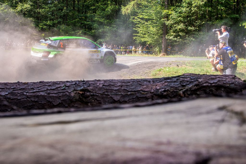 Jan Kopecký / Pavel Dresler, ŠKODA FABIA R5, ŠKODA Motorsport. Barum Czech Rally Zlín 2017